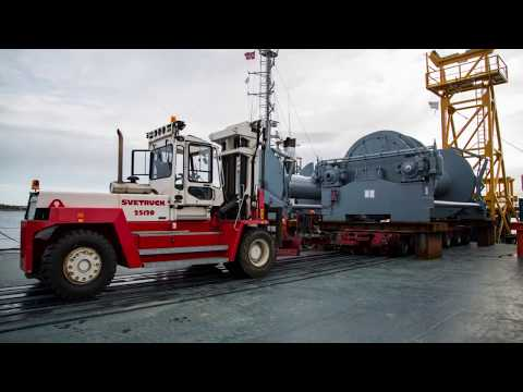 Shipping 750Ton winch package