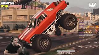 Реакция Диктора на: TOP 100 BEST GTA 5 WINS EVER! (Funny Moments Grand Theft Auto V Compilation)