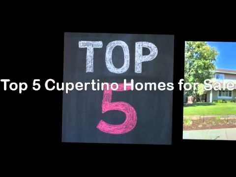 Top 5 Cupertino Homes for Sale