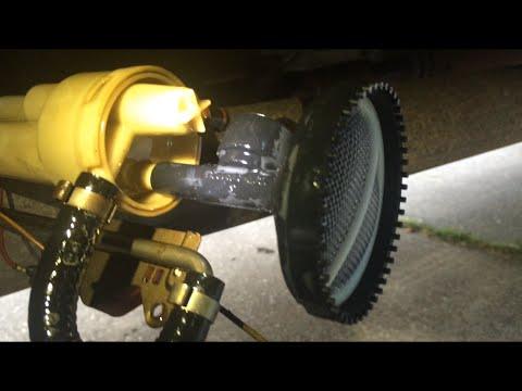 Replacing Fuel Intake Screen - 1999 F350 73L Diesel - YouTube