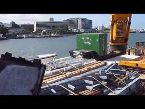 Cargo Ship Trinity Bay