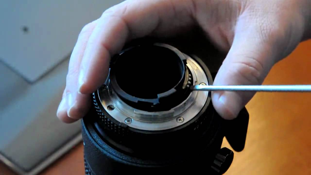 Nikkor Remove Focus Ring