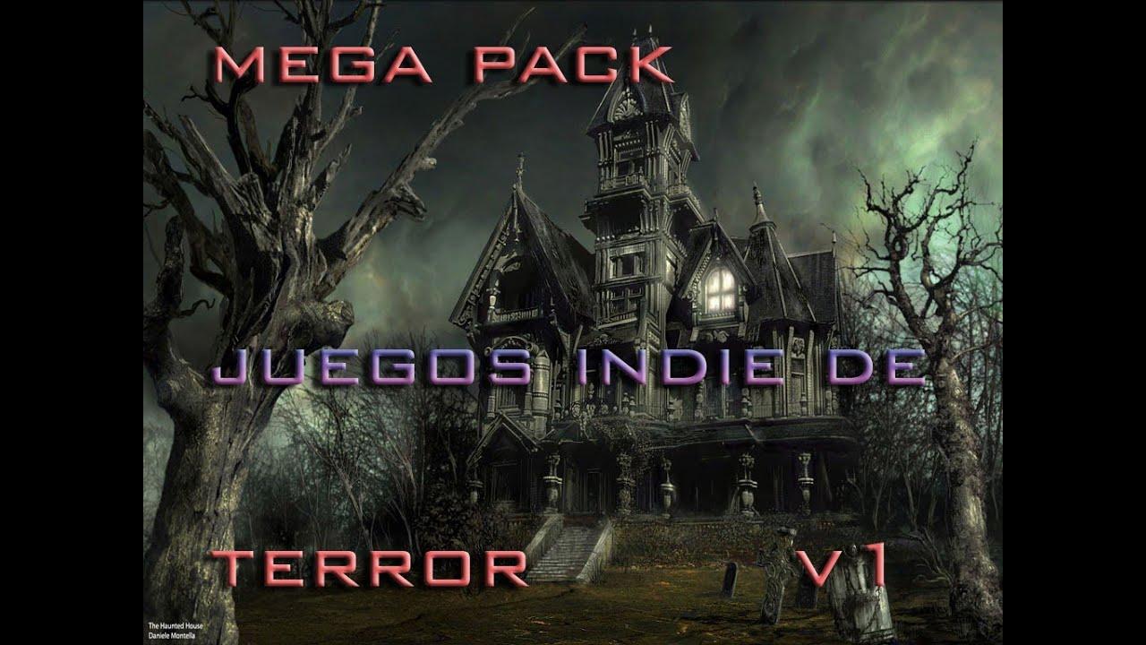 Descarga Mega Pack De Juegos Indie De Terror Youtube