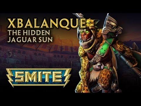 SMITE God Reveal - Xbalanque, The Hidden Jaguar Sun