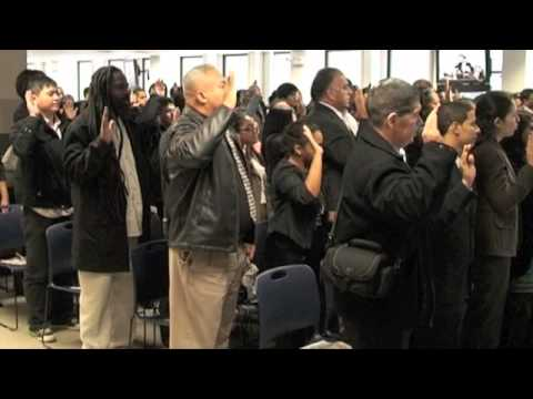 Naturalization Ceremony in New York City