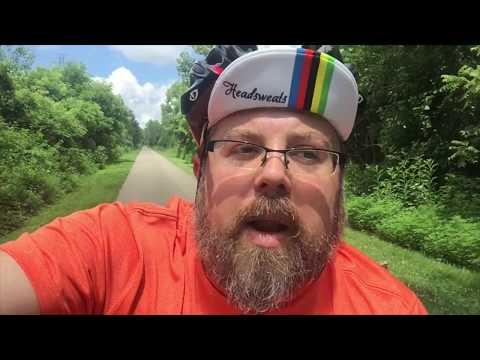 Day #2 Biking through Dayton Ohio   Wright-Patterson Air Force Base Museum