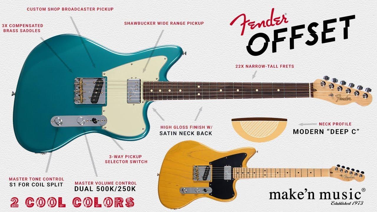 Fender Limited Edition Offset Telecaster® FSR | Make'n Music