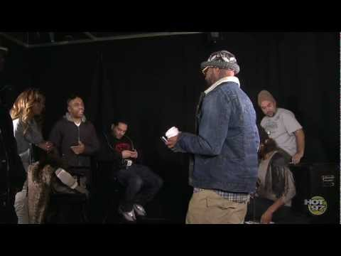 AWKWARD! Joe Budden Confronts Consequence and Hot 97 Catches it on Camera