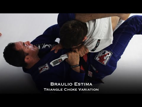 Braulio Estima - Slick Triangle Choke Variation (Technique Video)