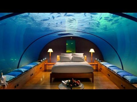 first luxury underwater hotel at dubai youtube