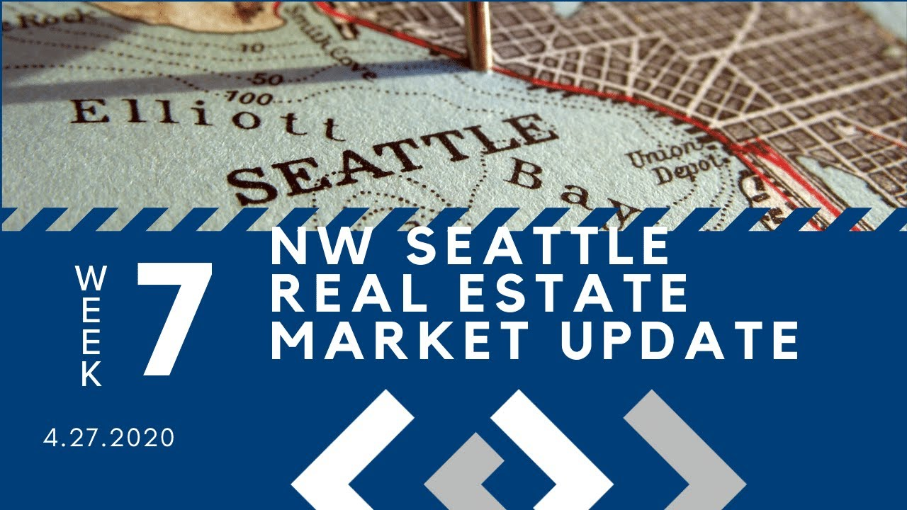 Monday NW Seattle Real Estate Market Update 4.27.20