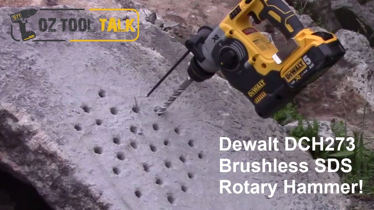 Dewalt 18V XR Brushless SDS Rotary Hammer Drill - DCH273 Review