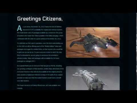 Star Citizen - Anniversary Sale (Sale is Done Now) From Nov