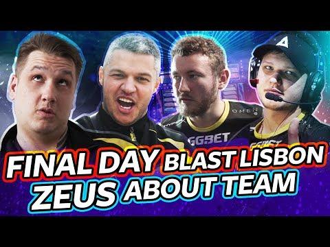 #NAVIVLOG: Final day at BLAST Lisbon, Zeus about team