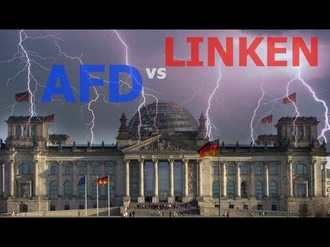 PEINLICH : Die Linken vs AFD im Bundestag - Schwerbehinderte