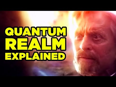 Ant-Man & Wasp QUANTUM REALM Explained!...