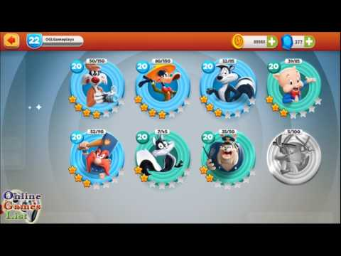 Looney Tunes World of Mayhem - All Town Toons Skills and Evolutions
