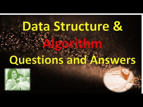 Data Structure and Algorithm Questions and Answers Part 1