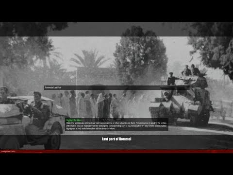 Last Port of Rommel - Campaign North Africa - Battles for WW2 - |FOW| - MOWAS 2