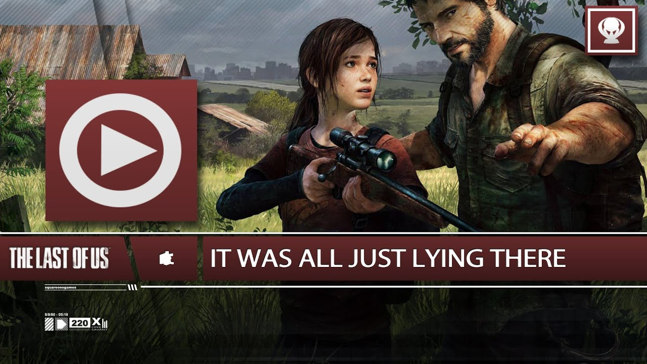 SOG It Was All Just Lying There All Artifacts Wnavigation - The last of us lake resort map