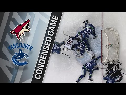 03/07/18 Condensed Game: Coyotes @ Canucks