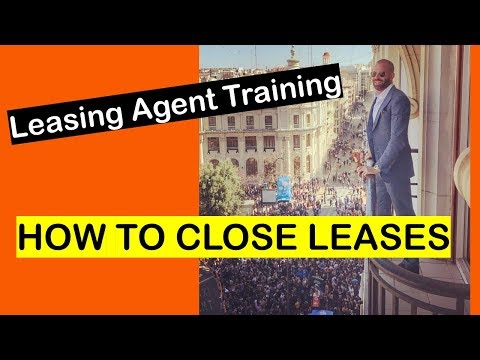Leasing Agent Training | How to Lease Apartments