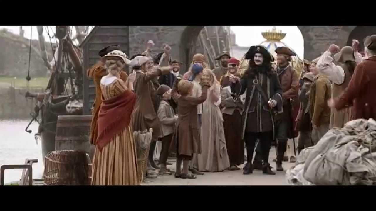 Kaptein Sabeltann og skatten i Lama Rama bakomfilm