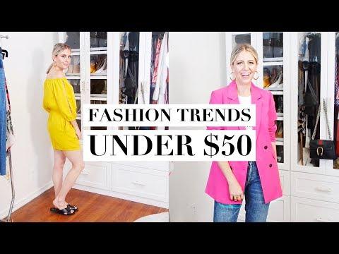 10 Spring Fashion Trends Under $50!!