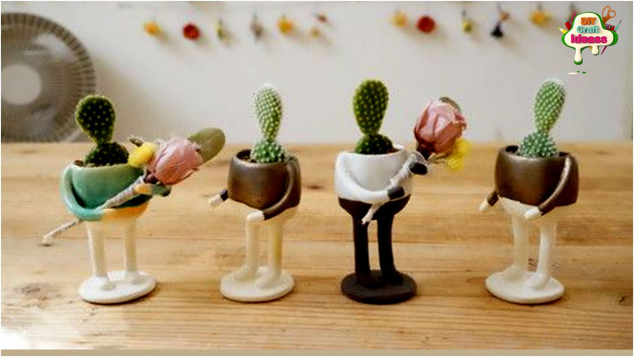 Cactus planter with plastic bottle Recycling Ideas you must try |Amazing  Hacks | arush craft ideas