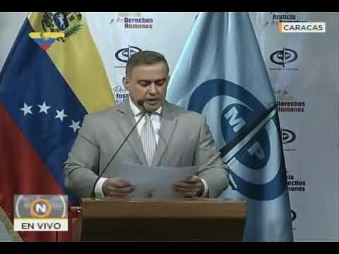 Fiscal General Tarek William Saab: desmantelan Cartel del Malecón perteneciente a Yoel Palmar