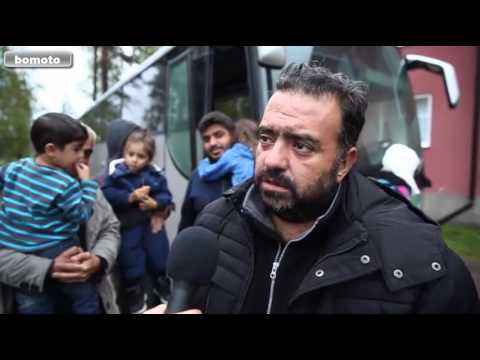 Sweden : Syrian refugees in Fredriksberg unhappy with the accommodation provided by Sweden