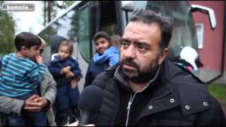 Sweden : Syrian refugees in Fredriksberg unhappy with the accommodation provided by Sweden thumbnail