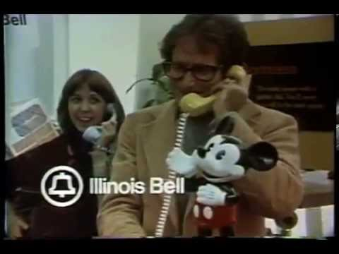 Illinois Bell Phone Center Store- Robin Williams-1977