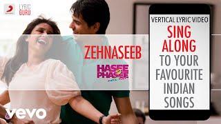Zehnaseeb - Hasee Toh Phasee|Official Bollywood Lyrics|Shekhar Ravjiani|Chinmayi Sripaada