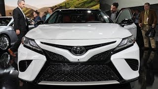 تويوتا كامري  -  معرض ديترويت للسيارات 2017