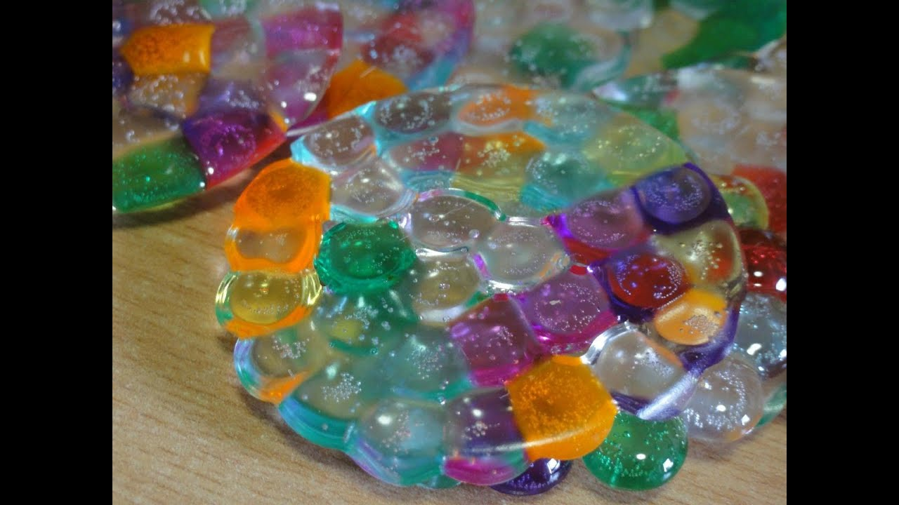 Melted Bead Suncatcher Ornaments Youtube