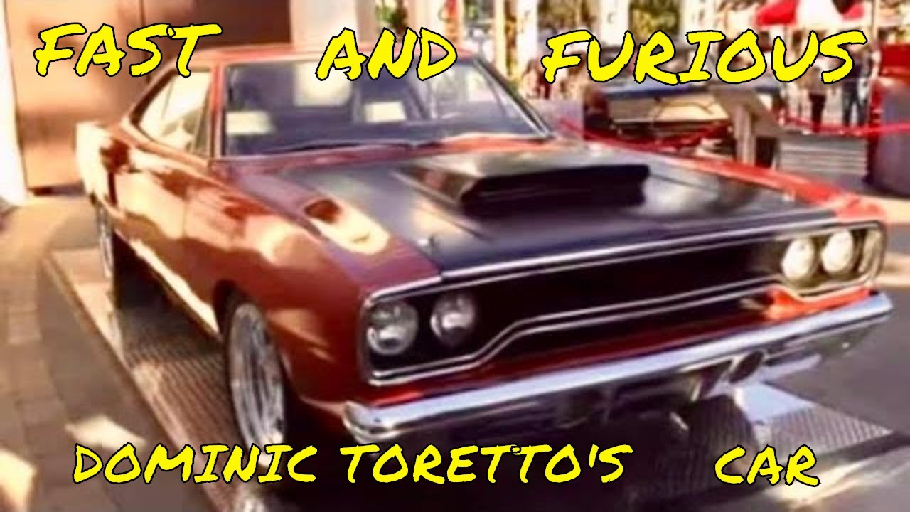 Fast Furious Plymouth Roadrunner Six Pack Movie Car From