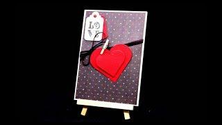Karten Basteln mit Papier für Valentinstag & Muttertag | Einfache DIY Bastelideen für Anfänger