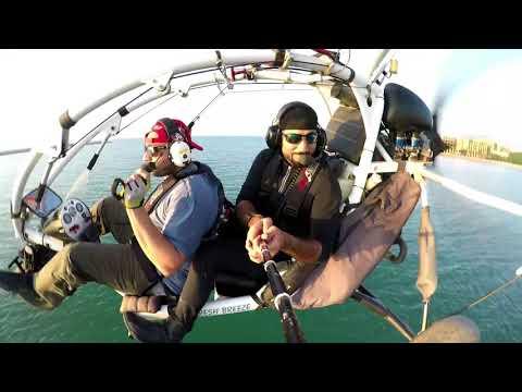 Xcitor Flying over Ras Al Khaimah Hazza Fazza with Bo omar
