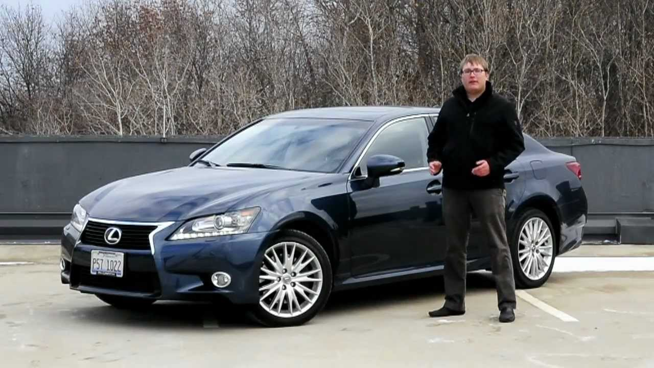 IHS Auto Reviews: 2013 Lexus GS350 AWD With Enform