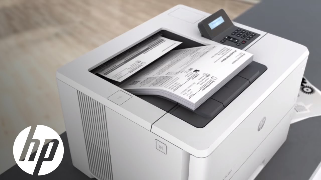 Hp Laserjet Pro M501 Printer Video Official First Look