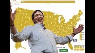 YANG vs. TRUMP! - 2020 Election Prediction #YangGang #MAGA