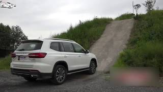 2019 Roewe RX8 30T four wheel drive off road test