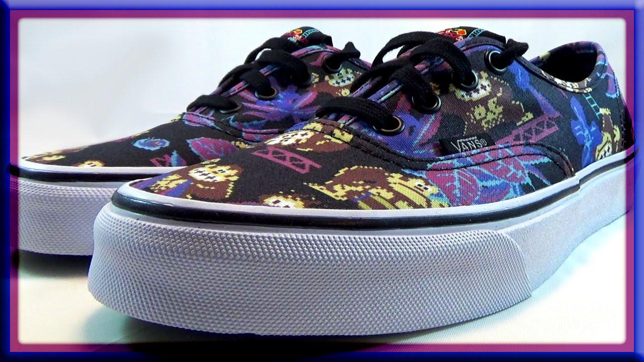 b9a239bd2c Vans Nintendo Donkey Kong Shoes - YouTube