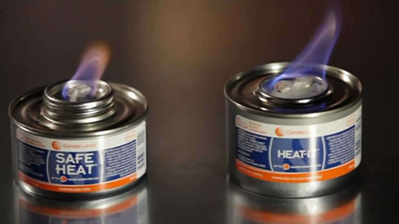 Safe Heat Chafing Fuel - YouTube