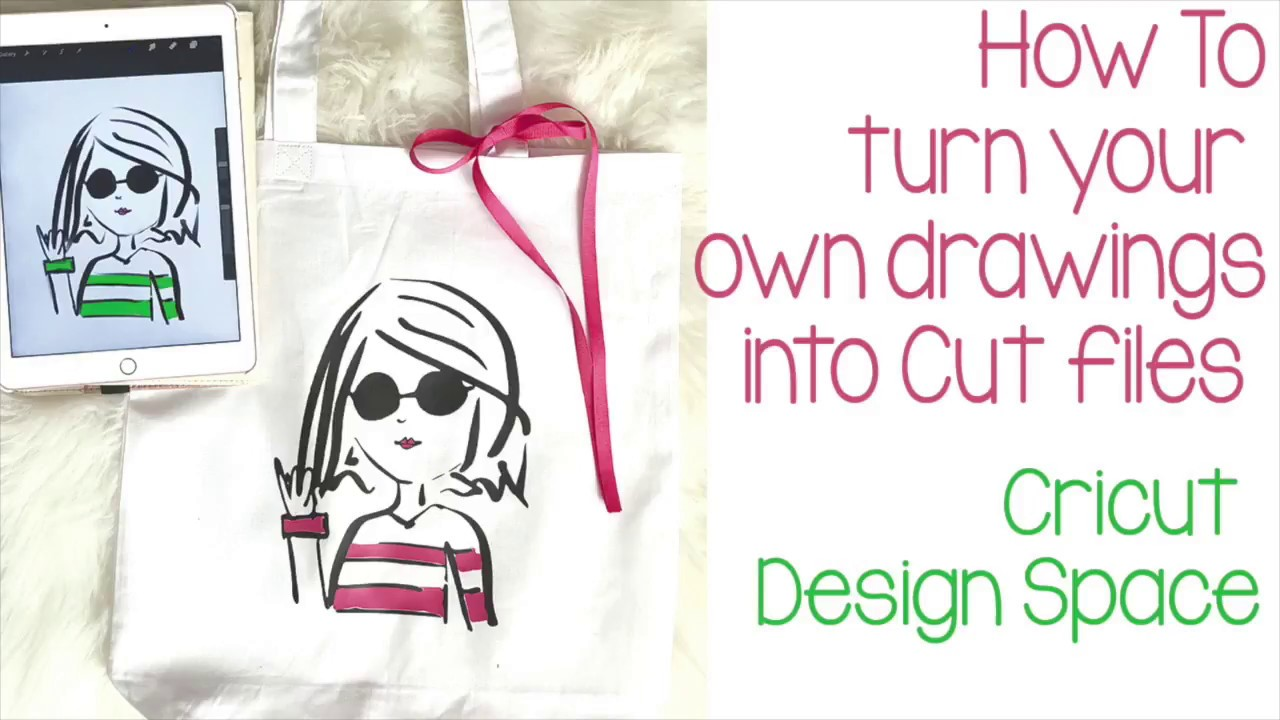 how to create cut files from your own drawings in cricut design