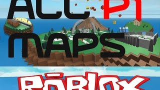 ROBLOX Natural Disaster Survival - All Maps and walk through of them PART 1