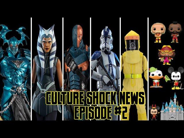 cSc News Ep2: DC Multiverse, NECA TMNT, Hot Toys Ahsoka Tano, Hasbro Pulse Con, Disneyland POP Vinyl