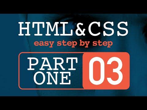 #3 تعلم HTML و CSS خطوة بخطوة  - كتابة أول عنصر في جسم ملف HTML
