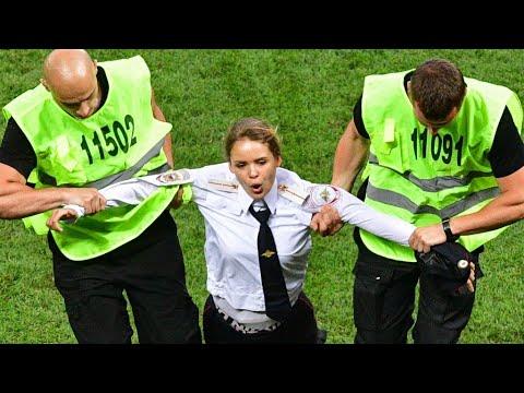 الحكم بالسجن 15 يوما على فرقة اقتحمت الملعب في مباراة فرنسا وكرواتيا  - نشر قبل 3 ساعة